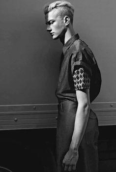 Benjamin Jarvis by Kacper Kasprzyk for VMAN magazine