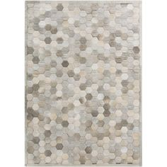Hand-Crafted Cesar Geometric Hair On Hide Rug ($471) ❤ liked on Polyvore featuring home, rugs, grey, geometric pattern area rugs, gray geometric rug, geometric area rugs, grey patterned rug and patterned rugs