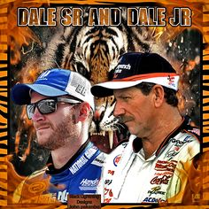 and from the request someone else requested a dale sr jr one to be requested with the tiger theme so here ya go as well hope u enjoy  Black Lightning dale earnhardt sr dale earnhardt jr