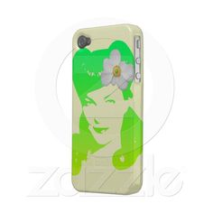 Vintage Glamour Girl iPhone4 Case $35.75  http://www.zazzle.com/vintage_glamour_girl_case-179275739503776292