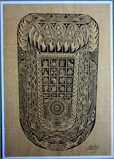 New art work named Feet Of The Buddha. Handmade with a Feet Of The Buddha design on paper. Then remove the Feet Of The Buddha design and then put into a sepia paper. By printing . Size: Length 29.7 cm wide 21 cm (Paper Size A4) Use to add to your photo frame for home decoration. All The