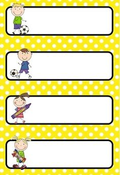 {Editable} Daily Schedule Cards - Polka Dots