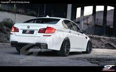 BMW F10 M Look  Bodykit Frontschürze Heckschürze Seitenschweller Stoßstange