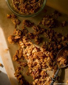 Homemade Maple Cinnamon Granola | Fork Knife Swoon