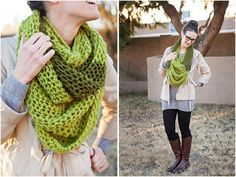 Top 10 Fun And Unusual DIY Scarfs (Free Kniting and Crocheting Patterns)