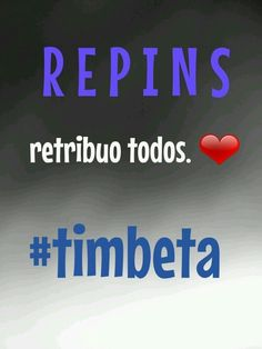 #BetaAjudaBeta #timBETA #betaseguebeta #SDV #Repin