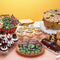 Spooky Halloween Menus  | Halloween Bake Shop | MyRecipes.com