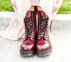 Steel Toe Oxblood Solovair
