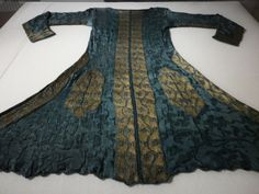 Man knitted coat with silk knitted wire patterns, 1695-1700