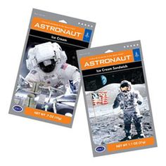 Astronaut Ice Cream - kids