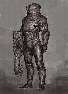 Metallic Armor, Ariel Perez on ArtStation at https://www.artstation.com/artwork/083oE