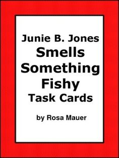 junie b jones smells something fishy book report In the middle  they could not bring wild animals only if they were in a cage s.