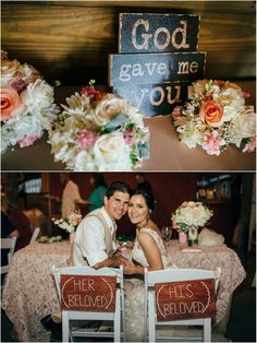 "Top Themed Weddings of 2015 - KnotsVilla. ""God Gave Me You"" Rustic Wedding by Darin Crofton Photography"