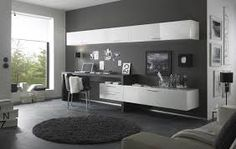Image result for entertainment center with desk