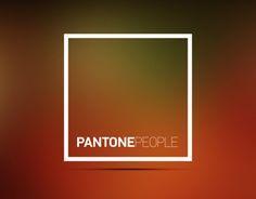 """다음 @Behance 프로젝트 확인: """"PANTONE People"""" https://www.behance.net/gallery/15790679/PANTONE-People"""