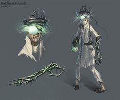 Mad Scientist Concept by kircida.deviantart.com on @DeviantArt