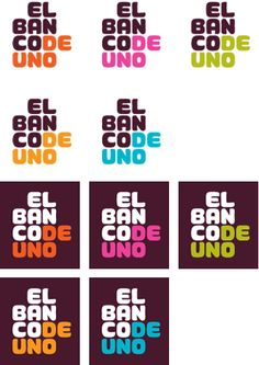 El Banco Deuno Logo and Identity