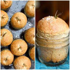Dinner Rolls Baked in a Jar (Recipe: Whole-Wheat Buttermilk Rolls)
