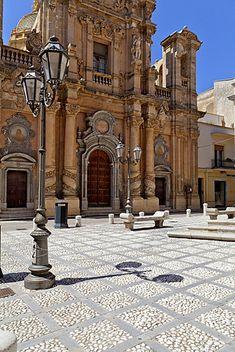 Iglesia del Purgatorio, Marsala, Sicilia, Italia, Europa