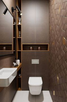 Upgrade Your House With Modern & Minimalist Bathroom Design Ideas That Will Impress Your Guest - SnapShot Magazine Bathroom Design Luxury, Bathroom Layout, Modern Bathroom Design, Bathroom Ideas, Bathroom Photos, Bathroom Vanities, Small Toilet Room, Small Bathroom, Small Toilet Design