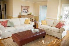 Ikea ektorp sofa, svanby beige slipcover