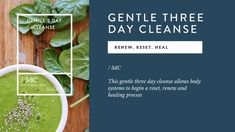 The Gentle 3 Day Cleanse - The Whole Daily