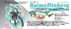 Anime Stickery is your one-stop store for high quality anime stickers for cars and wall stickers, etc. Anime Stickers, Bumper Stickers, Simple Pictures, Car Wrap, Hatsune Miku, Decals, Tags, Decal
