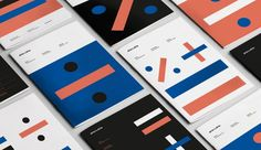 driexdrie Accounting Firm - Identity Design - Logotype, Visual Identity, Times sign * X, Divide by / , Plus Sign + , Basic Elements, Black, Orange, Blue