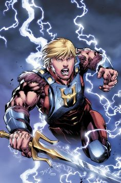 DC reveals new look for He-Man (now with more pants!)
