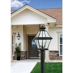 """Rutledge Collection Black 20 1/2"""" High Outdoor Post Light"""