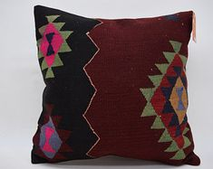 kilim pillow turkish rug oushak rug by kilimpillowmodaline Kilim Cushions, Boho Pillows, Kilim Rugs, Couch Design, Small Area Rugs, Designer Pillow, Vintage Rugs, Decorative Pillows, Decorative Throw Pillows