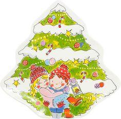 Bord kerstboom love