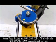 "Available at Sierra Victor Industries: 2-1/2"" BAILEIGH® Hydraulic Rotary Draw Bender. MODEL RDB-175. For more information or to order, CALL 386-304-3720, VISIT http://sierravictor.com/index.php?dispatch=products.view&product_id=315"