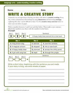 Creative writing fiction exercises