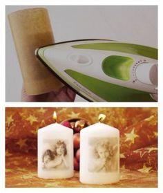 Geniálne jednoduchý spôsob ako ozdobiť sviečky! Autorka postupu je Dasa_ | Artmama.sk