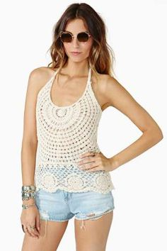Desert Child Crochet Top | Shop Product at Nasty Gal!