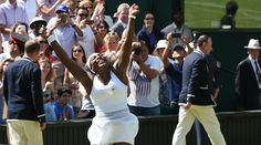 "Serena: ""Every day is a pleasure to be out here and playing and...winning Wimbledon, oh my gosh!"" Wimbledon 2015"