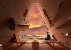 Skýli Trekking Cabin – Une cabane mobile pour les randonneurs