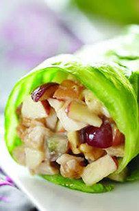 Easy Chicken Salad Wrap | 29 Fresh And Delicious Lettuce Wrap Ideas