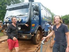 Dave The Hat and Jimmy Corrigan, founders of Overlanding West Africa on our first ever trip in This photo was taken in the Fouta Djalon region of Guinea by passenger Wilna Wilkinson. Jimmy Corrigan, Overland Truck, Tour Operator, Group Tours, Travel Tours, West Africa, Adventure Travel, Hat, Chip Hat