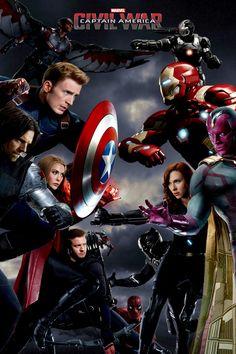 Captain America Civil War teaser poster, hope you like it. Avengers Fan Art, Avengers Team, Avengers Poster, Avengers Quotes, Avengers Imagines, Avengers Cast, Marvel Avengers, Poster Marvel, Marvel Heroes