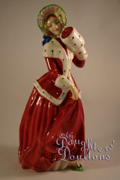 Royal Doulton Figurines, current and discontinued, Pretty Ladies, Characters and Character Jugs, My Daughters' Doultons located Ontario, Canada ships worldwide
