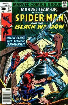 Marvel Team-Up | Marvel Team-Up 57 - Marvel - When Slays The Silver Samurai - Sword ...