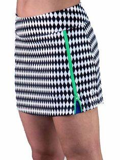 JoFit Zippy Tennis Skort - Harlequin