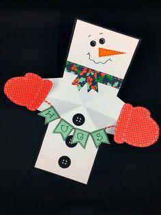 Snowman Twist and Pop Card