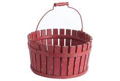 BUTLER'S PANTRY – Farmhouse Bucket, Red on OneKingsLane.com