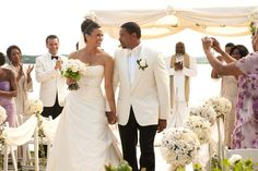 Pin for Later: The Ultimate Movie and TV Weddings Gallery Jumping the Broom Sabrina (Paula Patton) and Jason (Laz Alonso) come from very different worlds, but their love for each other sees them through the tough times.