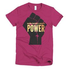 Know Thyself, Rise in Power Short sleeve t-shirt