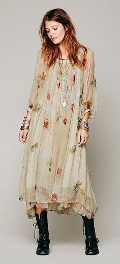 Traum in Chiffon Feine Kleider, Lange Kleider, Vintage Klamotten, Mode Für  Mollige a4f7f1e16b