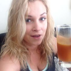 """mrs-bellamyblake: """"Eliza: Pre work out energizer. Cheers. Eliza: [spits out drink instantly] oh fuck my life. """""""